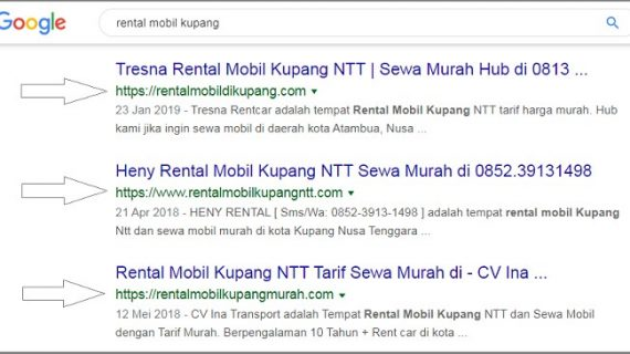 Langkah seo on page